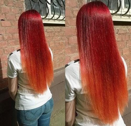 Prekrasne crvene jesenske boje