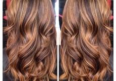 Privlačna bujna kosa