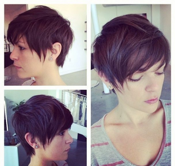 Jednostavna kratka frizura