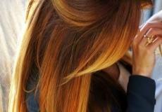 Osunčana frizura