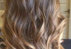 Moderna ombre frizura