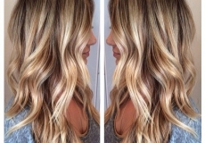 Predivna duga plava kosa