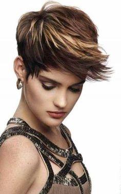 Moderna gusta kratka frizura