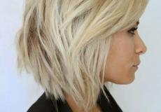 Postepena bob frizura