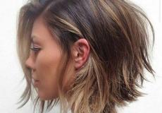 Opuštena bob frizura
