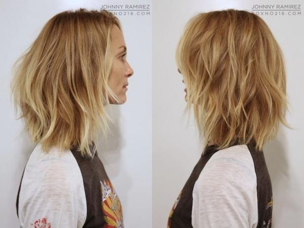 Frizura za tanku kosu