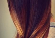 Svijetli pramenovi na tamnoj kosi
