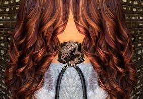 10 glamuroznih crvenkasto-smeđih ideja za boju kose