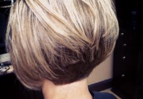 Postepene bob frizure