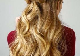 Duge jednostavne frizure za djevojke