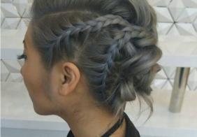 Super trendi updo ideje za kosu srednje dužine