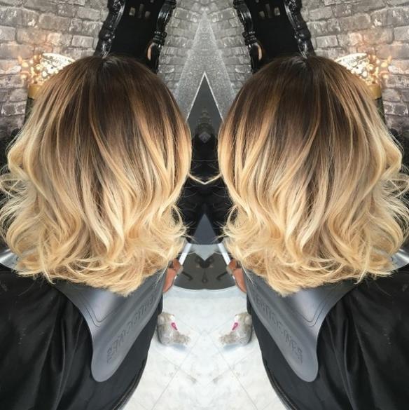 Balayage za kratku kosu