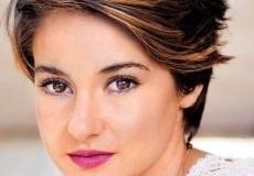 Shailene Woodley frizura