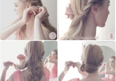 Predivna vjenčana frizura