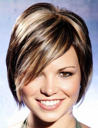 Medeni pramenovi za kratku kosu