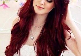 Crvene frizure za veselu jesen
