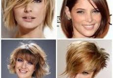 Četvrtasto lice i njene frizure
