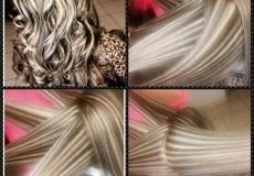 Zebrasta čokoladna frizura
