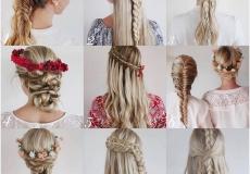 Pletenica kao svečana frizura