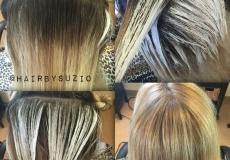 Svijetlija boja frizure