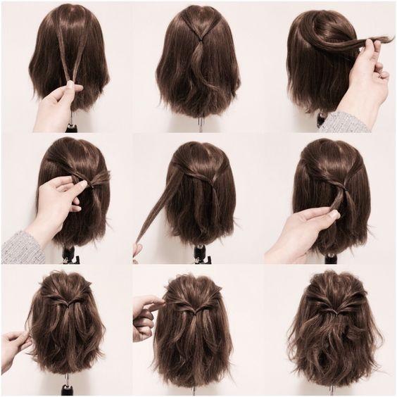 Kratka razbarušena frizura