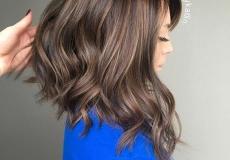 Gusta kosa ispod ramena