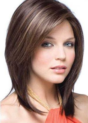 Postepeno smeđa frizura
