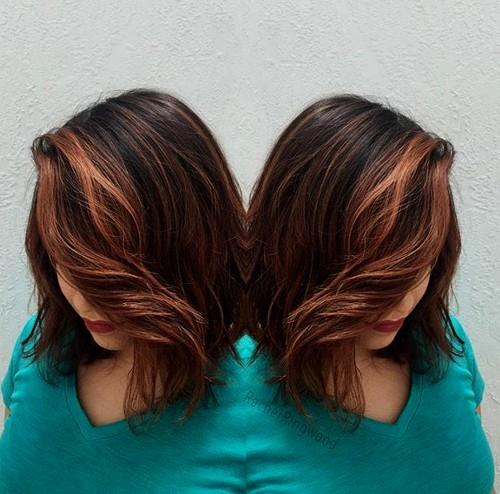 Kratke balayage frizure za djevojke