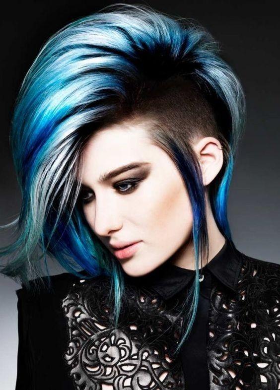 Plave ideje za vašu jedinstvenu frizuru