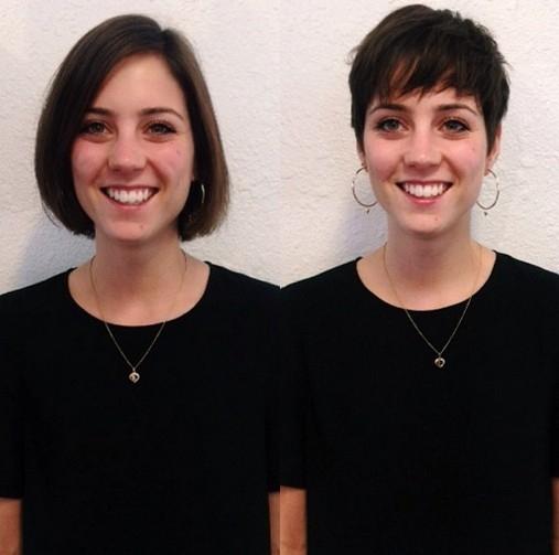 Frizure za djevojke koje vole kratku kosu