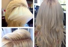 Platinasta plava kosa