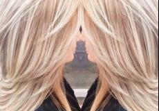 Plava kosa i pramenovi
