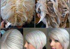 Prekrasna bijela kosa