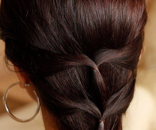 Jednostavna i elegantna frizura