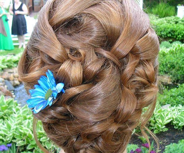 Podignuta svečana frizura