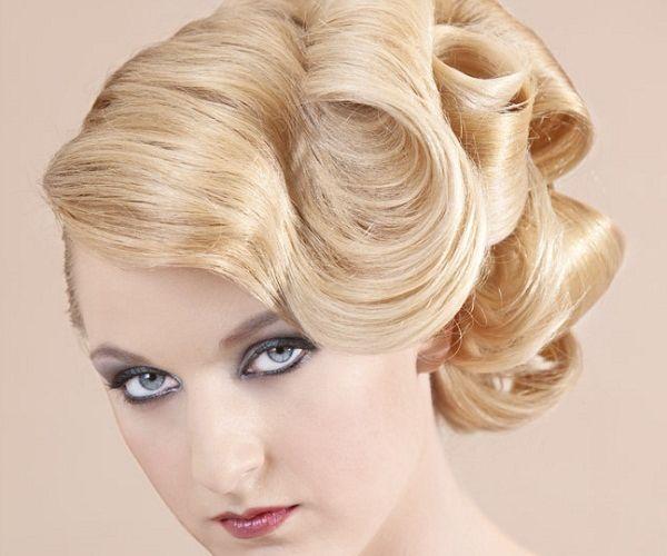 Staromodan stil frizure