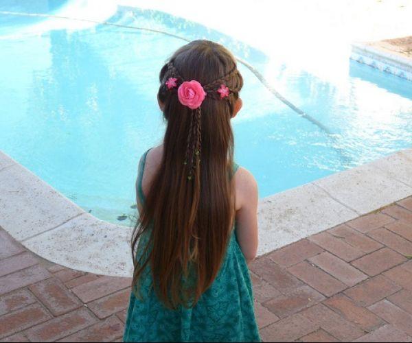 Duga, dječja frizura