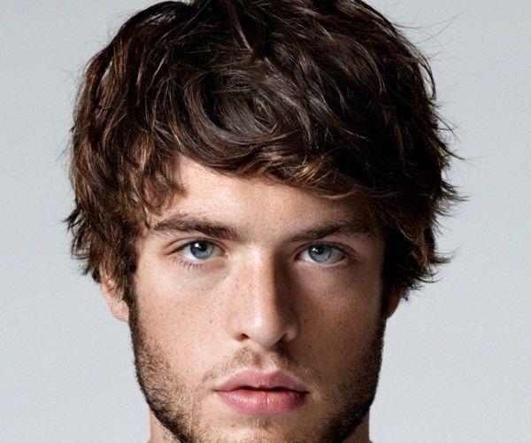 Ležerna muška frizura