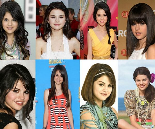 Selena Gomez - frizure
