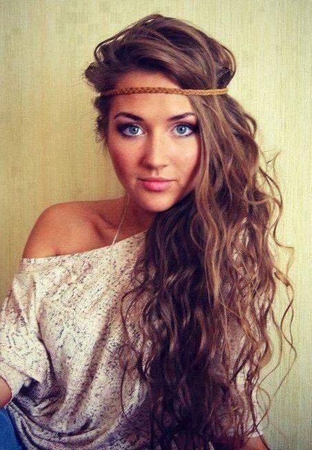 Hippy stil frizure