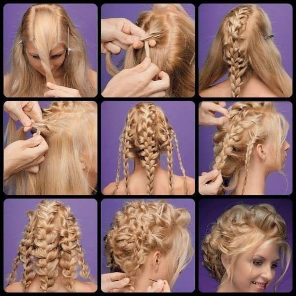 Složite sami svečanu frizuru!