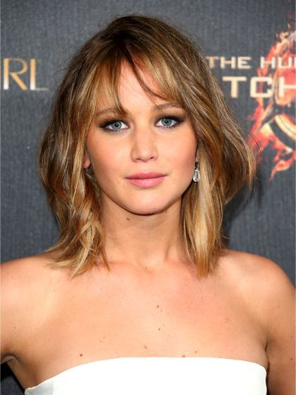 Jennifer Lawrence - osunčani pramenovi