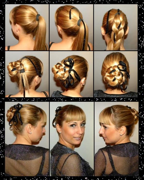 Novogodišnja trik frizura