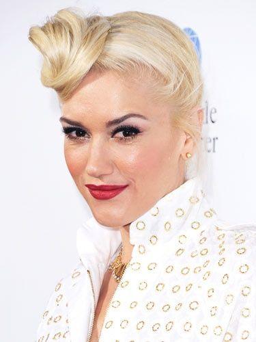 Gwen Stefani - punđa na čelu