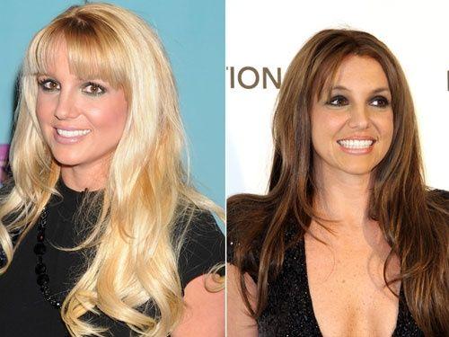 Britney - od plave do smeđe
