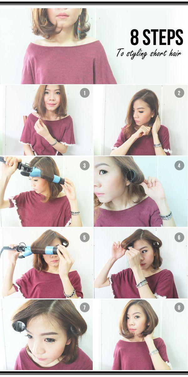 8 koraka do slatke frizure