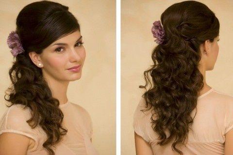 Jednostavna valovita frizura