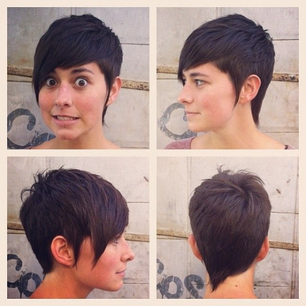 Četiri strane pixie frizure