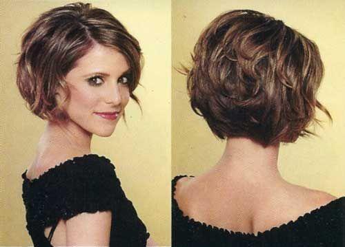 Lagano valovita bob frizura