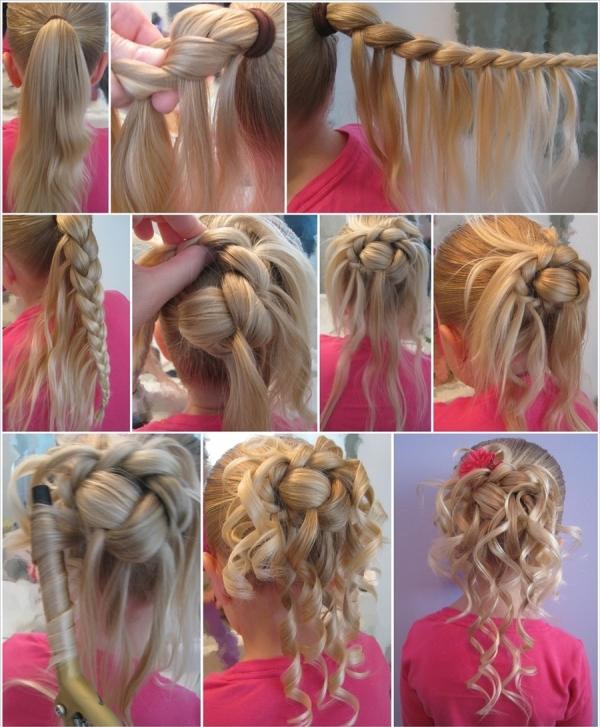 Odlična svečana frizura